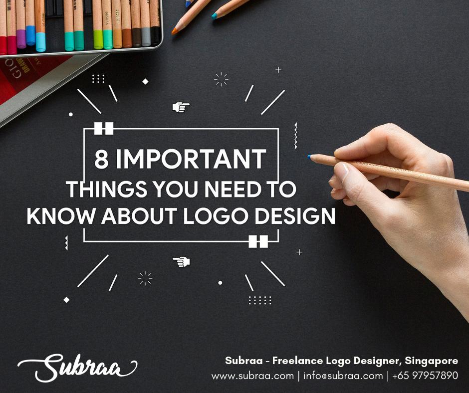 8 important things you need to know about Logo Design in Singapore